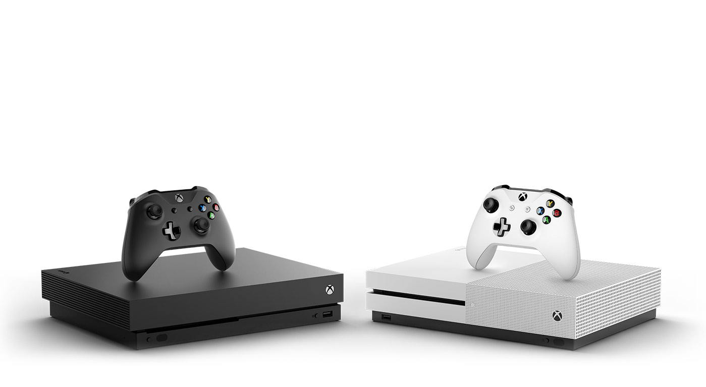 two consoles