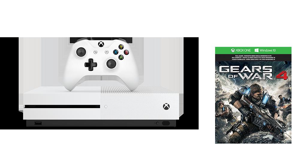 Zestaw Xbox One S Gears of War 4 (1 TB)