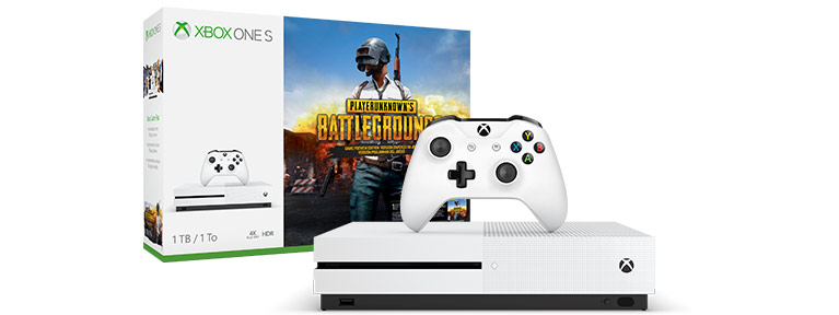 Набор Xbox One S с PlayerUnknown's Battlegrounds (1 ТБ)