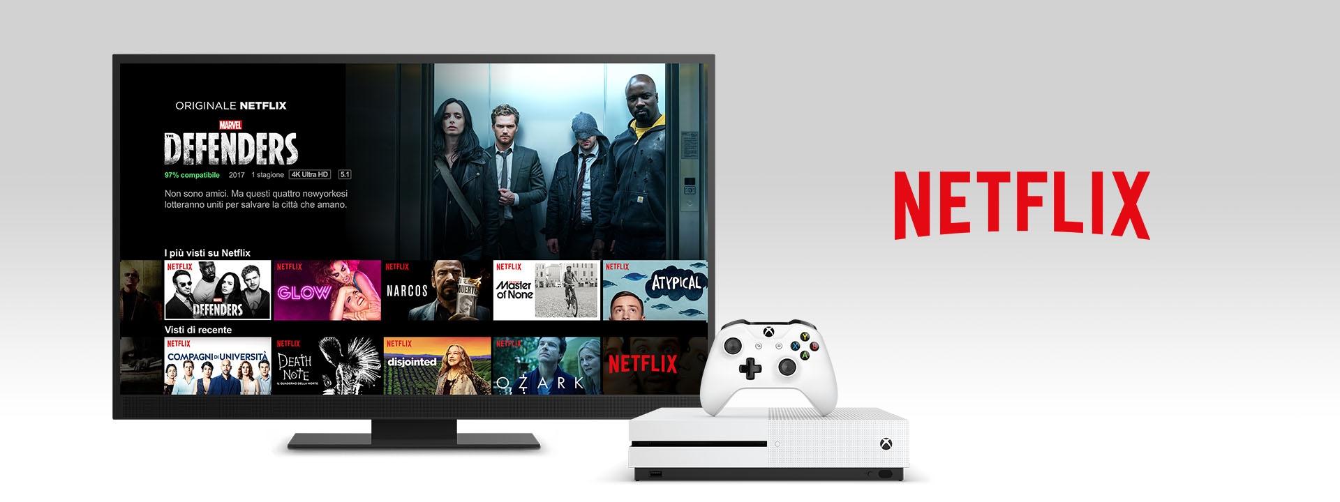 Netflix su Xbox One