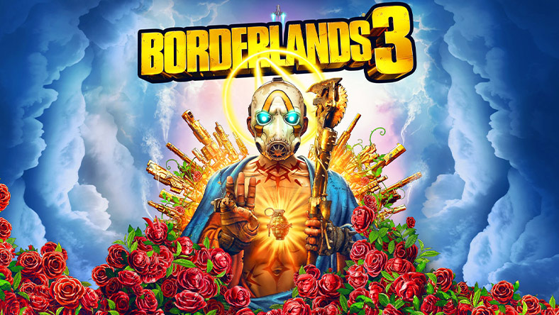 Borderlands 3 box art.