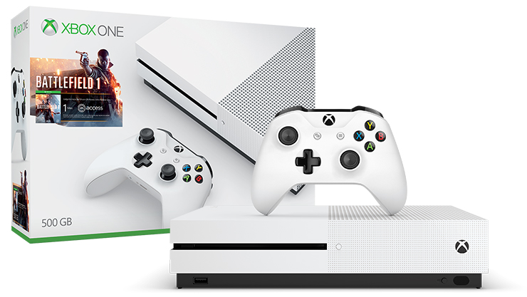 Πακέτο Xbox One S Battlefield 1 (500GB)
